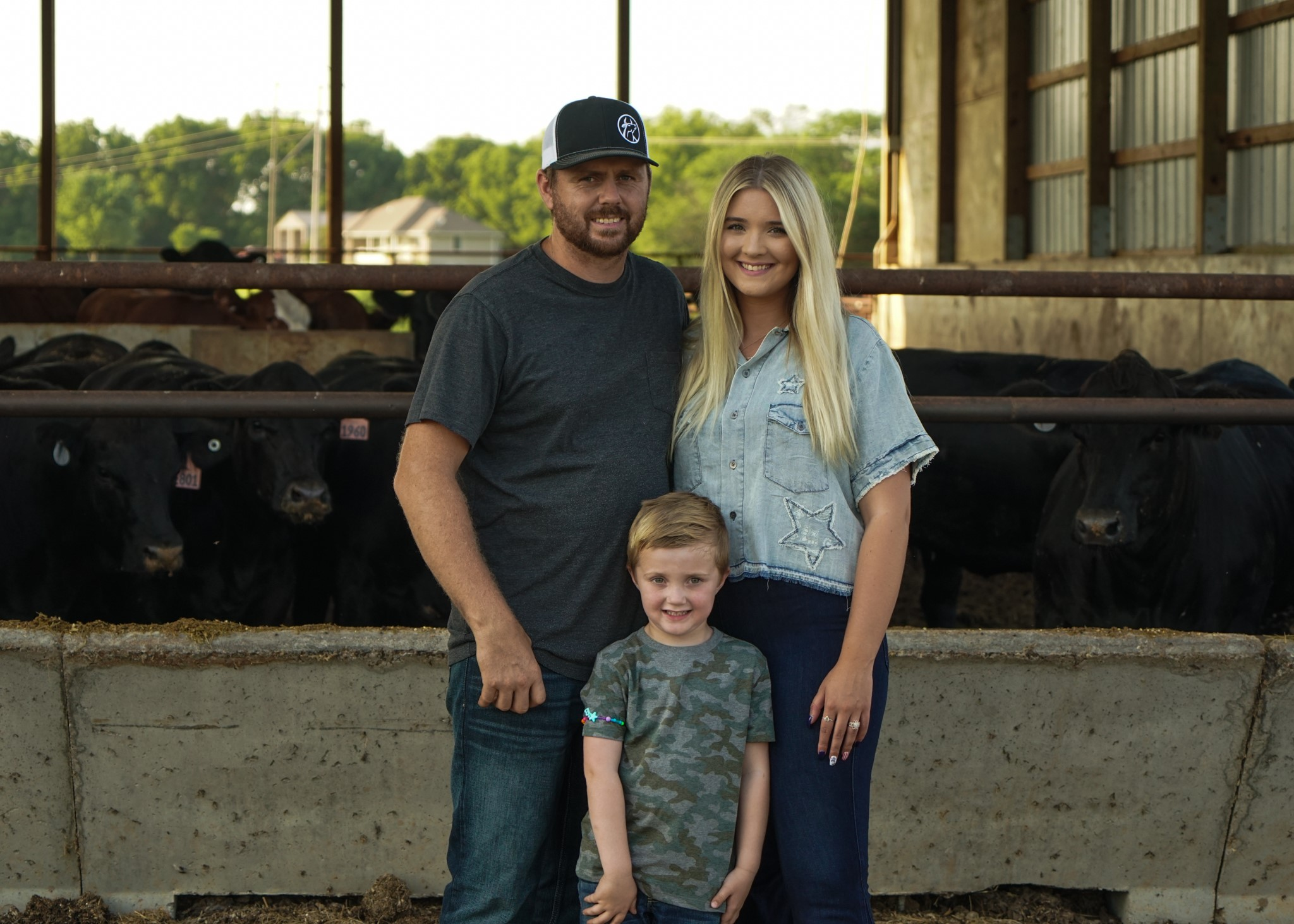 Picture of the Hartley family